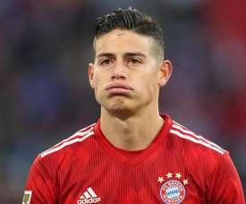 James Rodriguez está emprestado pelo Real ao Bayern. Goal
