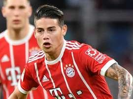 James tem deixado a sua (boa) marca na Baviera. GOAL