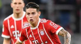 James Rodriguez Bayern Munich. Goal