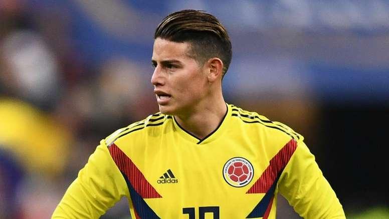 James é um dos jogadores em destaque no grupo. Goal