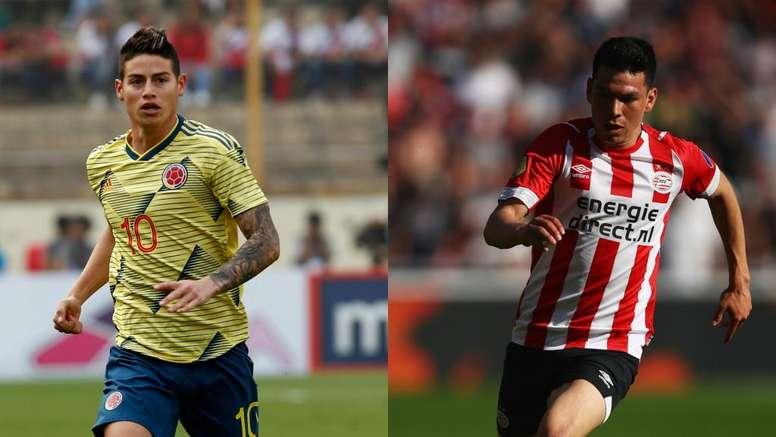 Napoli, James Rodriguez più Lozano: De Laurentiis vuole la doppietta. Goal