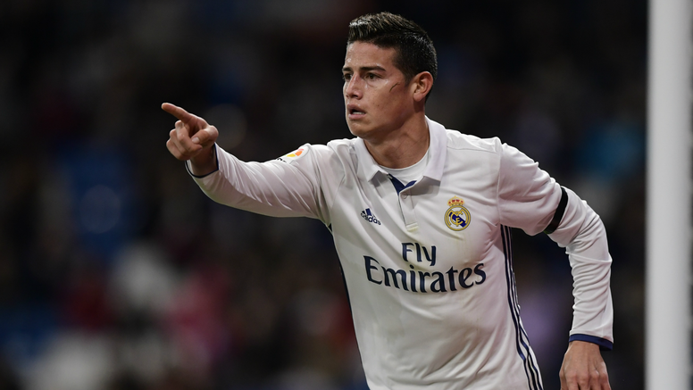 James Rodriguez Real Madrid Cultural Copa del Rey