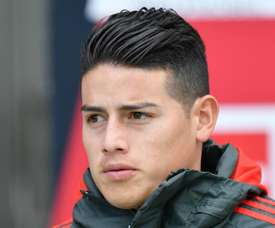 Insigne says James Rodriguez (pictured) would be very good at Napoli. GOAL
