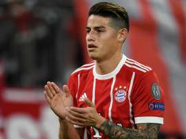 James is on loan from Real Madrid. GOAL