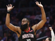 Rockets star Harden joins Houston Dynamo ownership group.