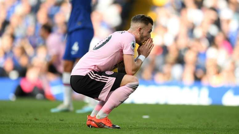 Leicester's Maddison regrets missed opportunity at Chelsea. GOAL