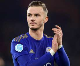 Rodgers hopeful Man Utd target Maddison will sign new Leicester deal
