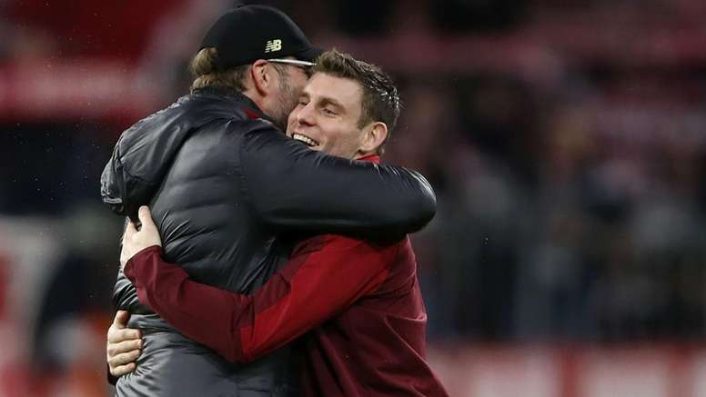Milner sick of second and 'desperate' to taste glory for Liverpool.
