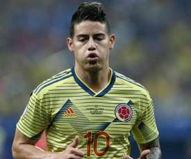James Rodriguez will not feature in Colombia's friendlies. GOAL