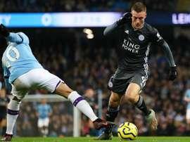 Vardy earns Guardiola praise as Man City boss salutes Leicester striker. GOAL