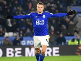 Jamie Vardy will sit out the FA Cup tie with Wigan. GOAL