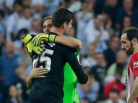 Jan Oblak and Thibaut Courtois