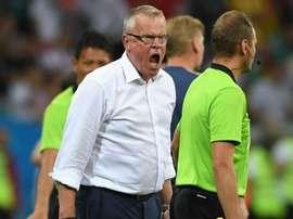Técnico da Suécia sonha com final.Goal