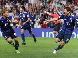 O Japão é finalista da Copa da Ásia. Goal