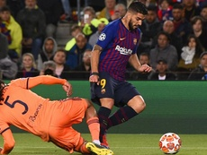 Le VAR a bien accordé le but à Suárez. Goal