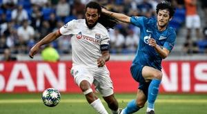 Lyon-Zenit 1-1, l'OL déçoit à la maison pour sa première. AFP
