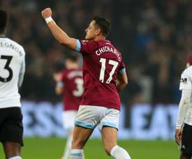 Hernandez scored with his hand against Fulham on Friday. GOAL