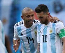 Os jogadores argentinos já estão a caminho de casa. Goal