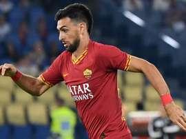 Il trequartista argentino Pastore della Roma. Goal