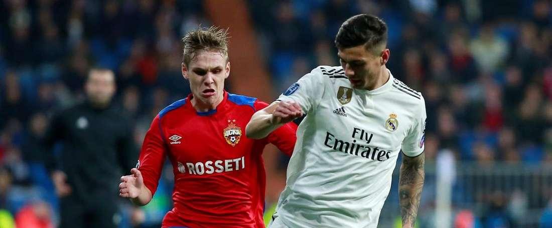 Il Valencia su Javi Sanchez. GOAL