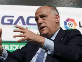 La Liga president Javier Tebas has criticised incidents in Saturday's games. GOAL