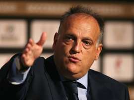 Tebas was not happy. GOAL