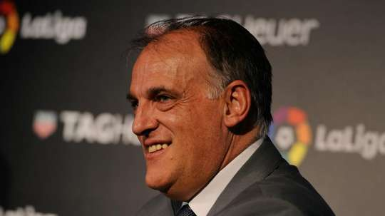 Javier Tebas president of La Liga. GOAL