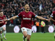 Hernandez scored a vital goal for West Ham. GOAL