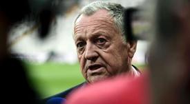 Lyon, Aulas regrette déjà Genesio. AFP