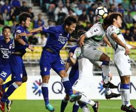 Jeonbuk Suwon scored last night. GOAL