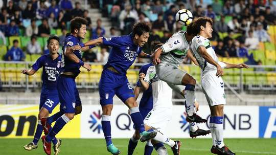 Jeonbuk Suwon scored last night. GOAL
