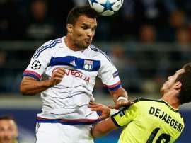 Le Lyonnais Jeremy Morel. Goal