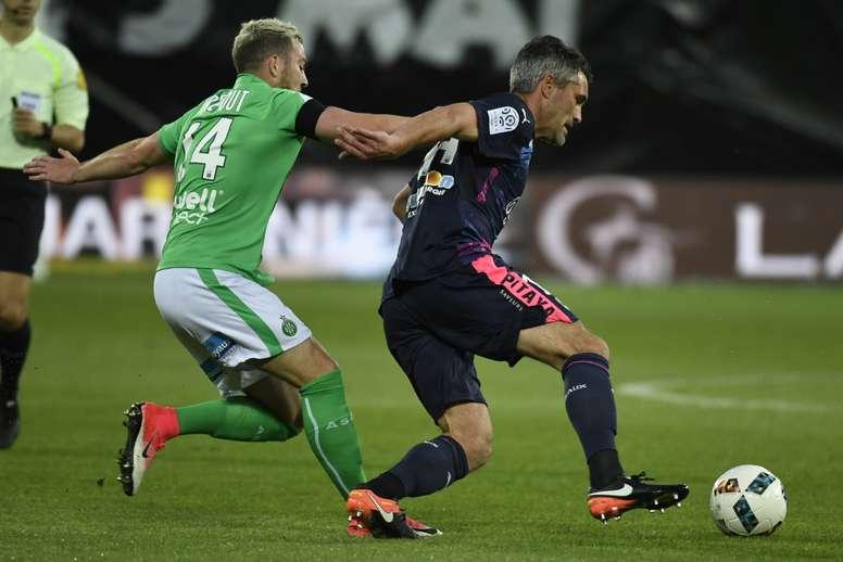 Jérémy Toulalan Jordan Veretout Saint Etienne Bordeaux Ligue 1 05052017