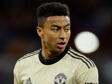 Lingard feared Man Utd career was over as forward reveals family struggles weighed him down. AFP