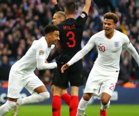 Lingard, Alli and Walker: stars of England's run to the World Cup have now been left out. GOAL
