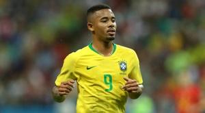 Jesus was back in goalscoring form as Brazil beat Saudi Arabia. GOAL