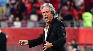 Jesus vows Flamengo fear nobody, even Liverpool, after securing Club World Cup final spot. AFP
