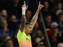 Jesus has gone onto 50 Man City goals after scoring at Selhurst Park. GOAL