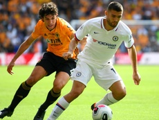 Jesus Vallejo's time at Wolves is expected to end soon. GOAL