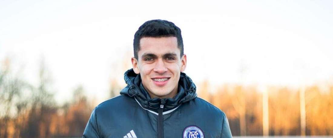 New York City sign Jesus Medina. Goal