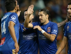 Newcastle Jets strolled to victory against Sydney FC. GOAL