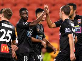 Newcastle Jets thumped Brisbane Roar away from home.GOAL