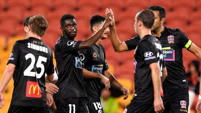 Newcastle Jets thumped Brisbane Roar away from home.GOAL