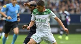 Les Verts surprennent les Girondins. AFP