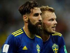 La sélection suédoise se mobilisent contre le racisme. Goal