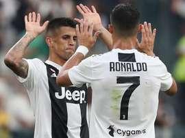 Cancelo s'est imposé à la Juventus. Goal