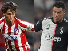 João Félix x Cristiano Ronaldo: de fã a adversário no duelo entre Atlético e Juventus