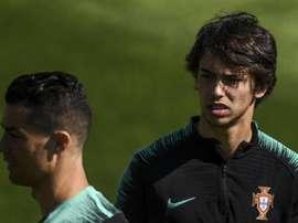 Joao Felix racconta l'incontro con Ronaldo. Goal