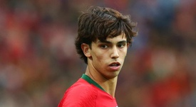 Joao Felix seems destined to be leaving Benfica in the summer. GOAL