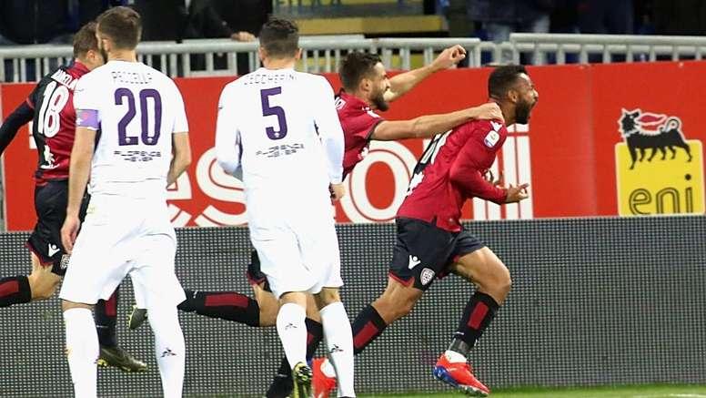 Cagliari-Fiorentina 2-1: Joao Pedro e Ceppitelli, viola ko alla Sardegna Arena